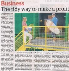 The tidy way to make a profit